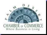 Member of the Palm Desert California Chamber of Commerece